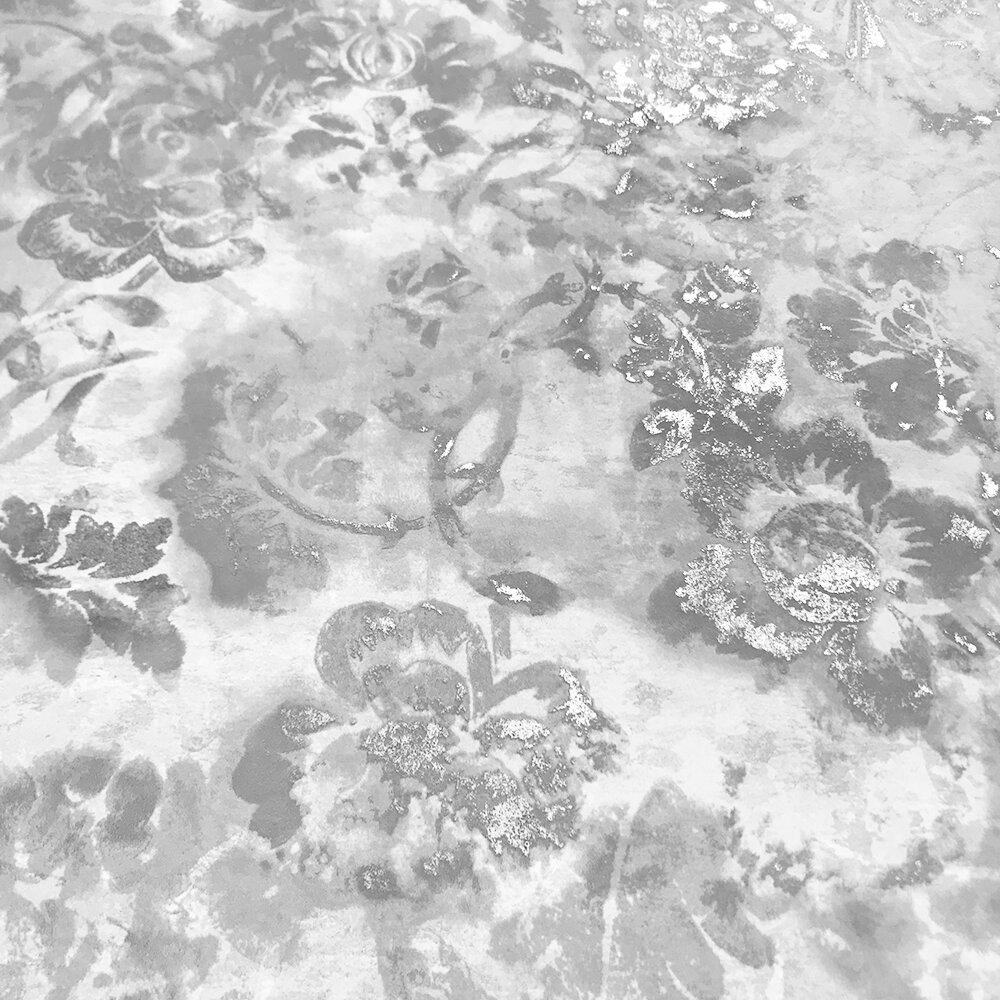 Tarbana  Wallpaper - Silver - by Designers Guild