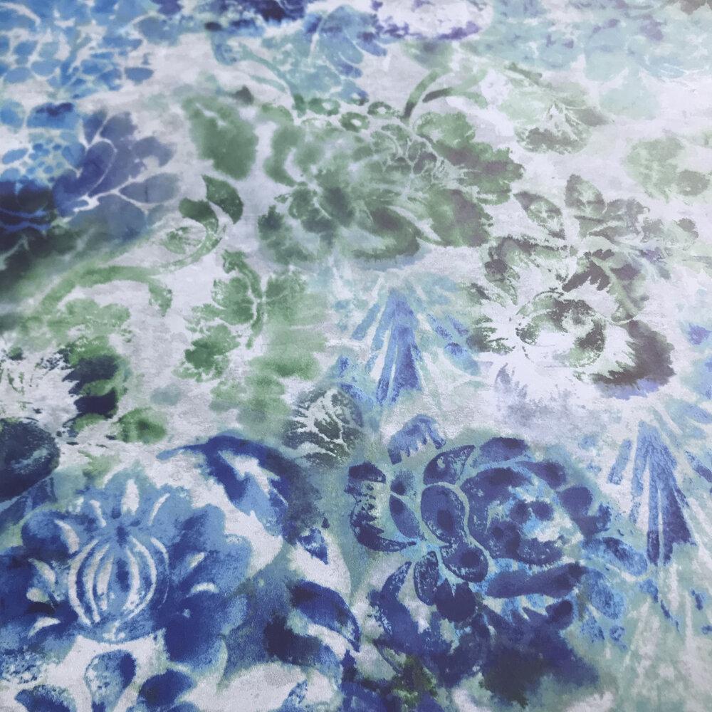 Tarbana  Wallpaper - Cobalt - by Designers Guild