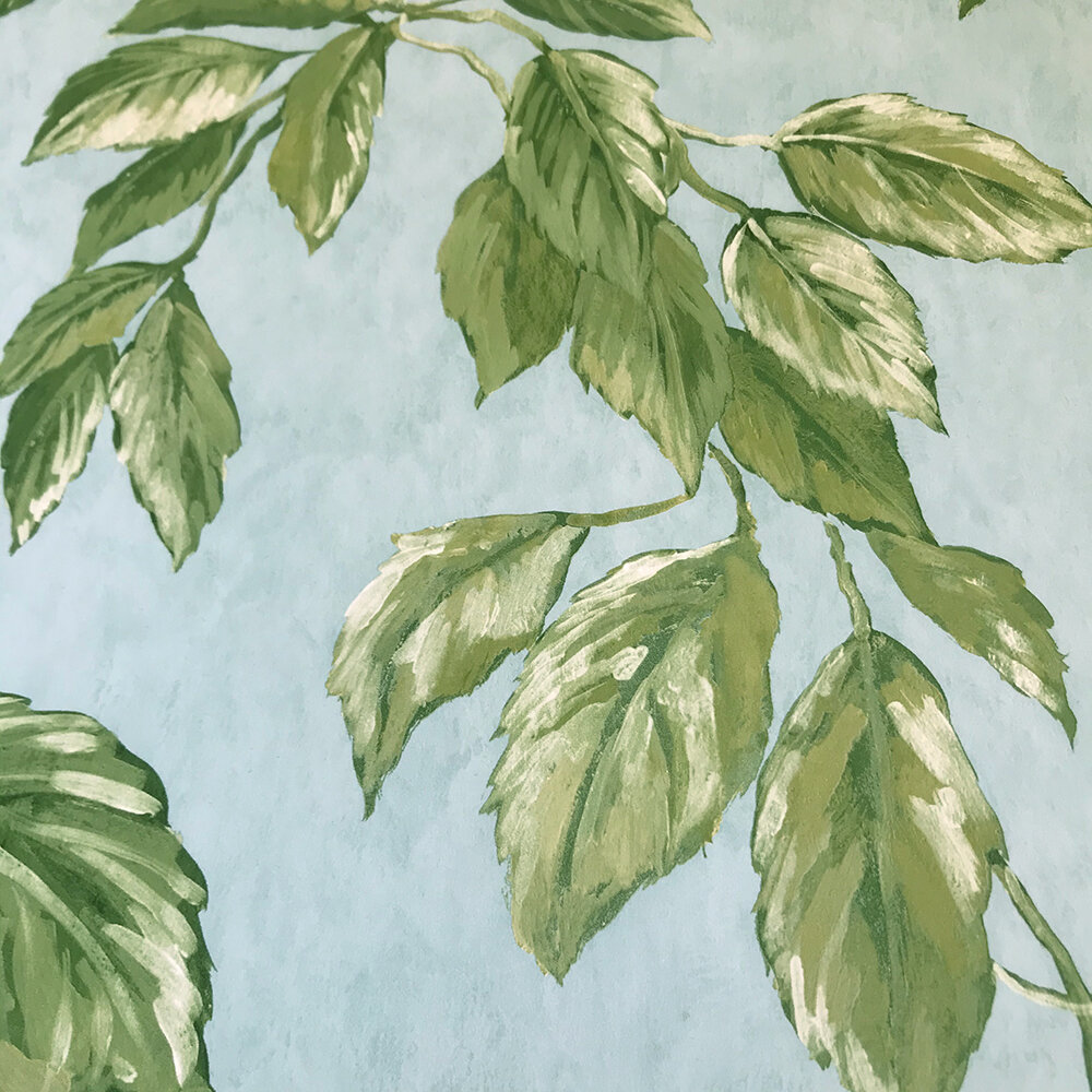 Jangal  Wallpaper - Celadon - by Designers Guild