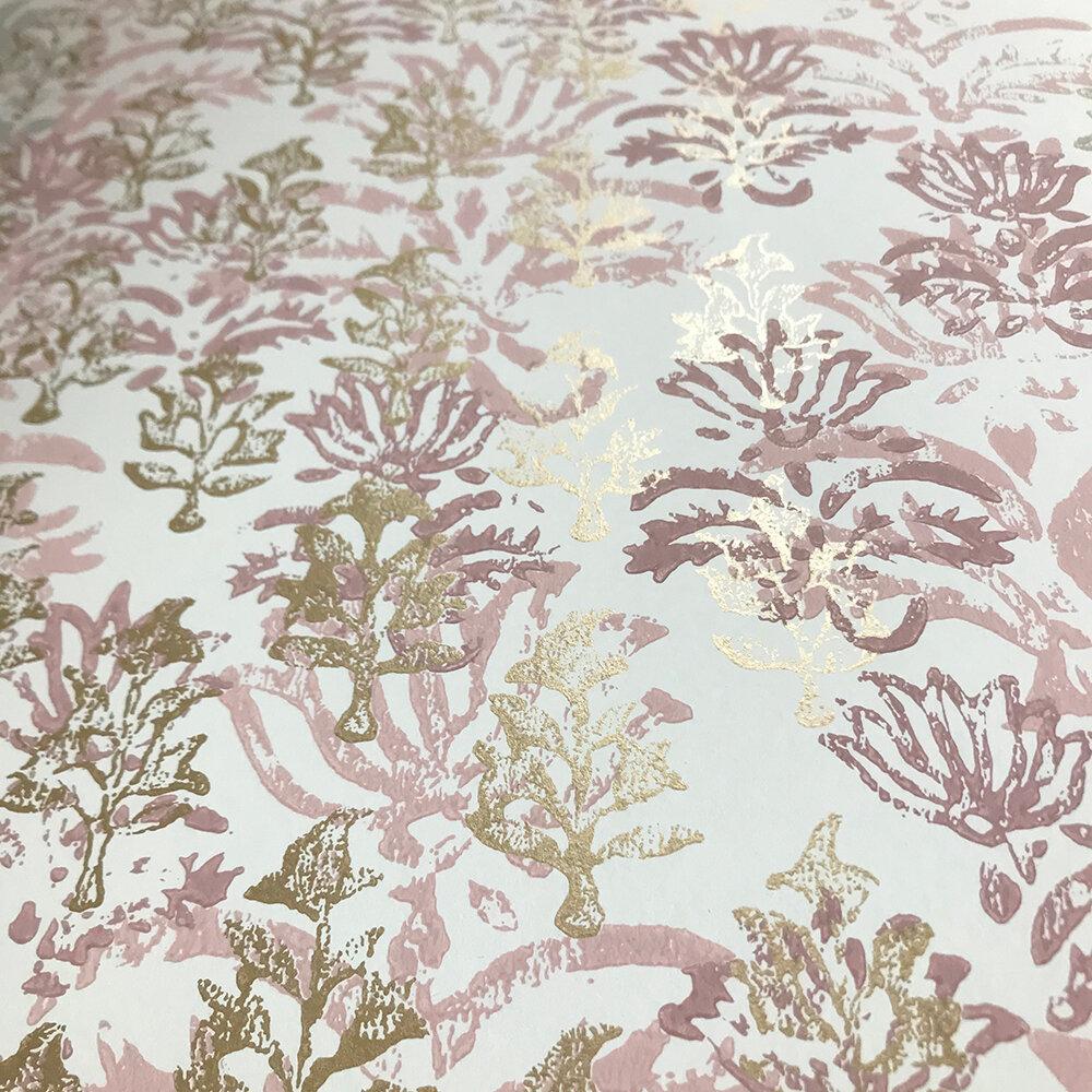 Kasavu  Wallpaper - Shell - by Designers Guild