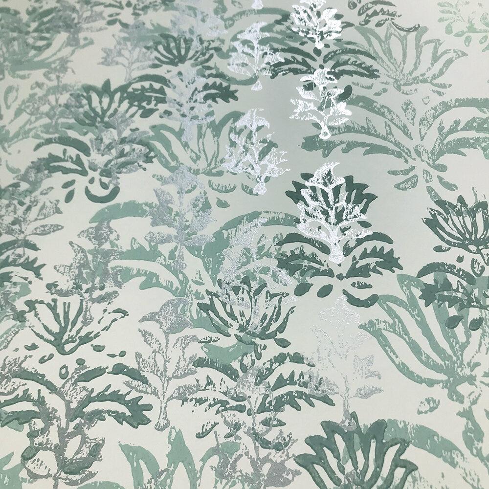 Kasavu  Wallpaper - Jade - by Designers Guild