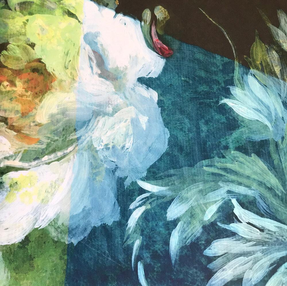 Minakari  Mural - Cobalt - by Designers Guild
