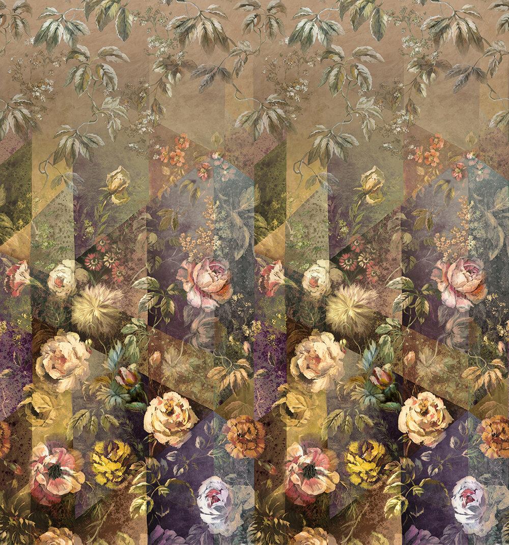 Minakari  Mural - Rosewood - by Designers Guild