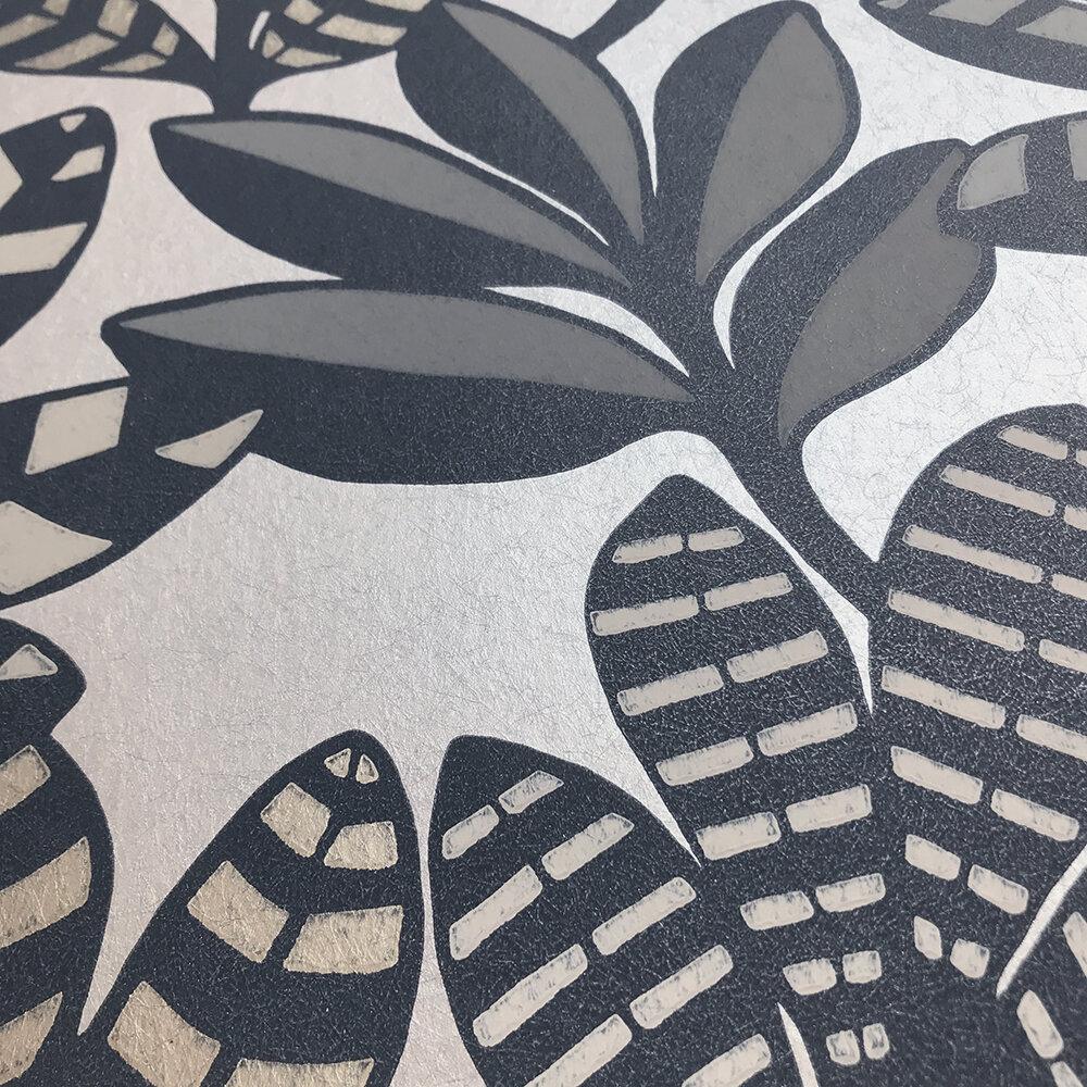 Tanjore  Wallpaper - Graphite - by Designers Guild