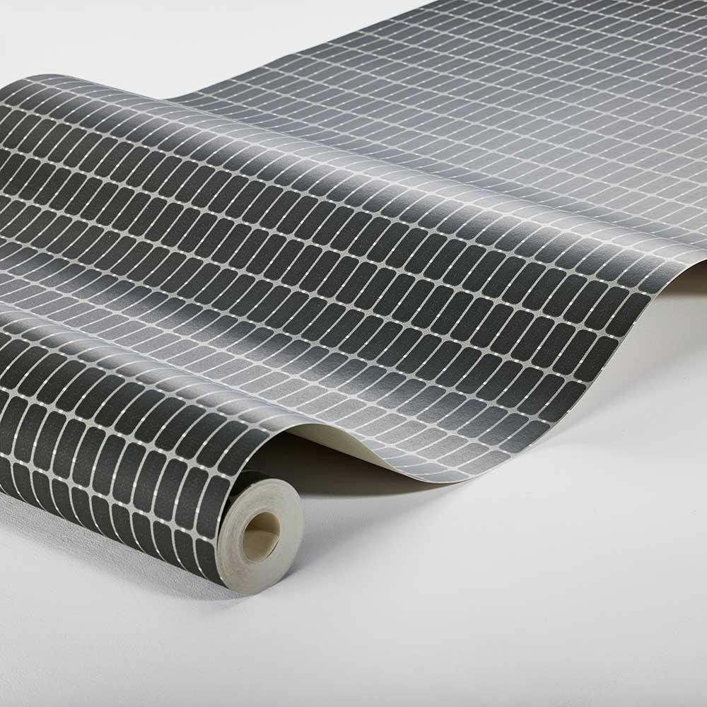 M.I.T. Wallpaper - Black - by Boråstapeter