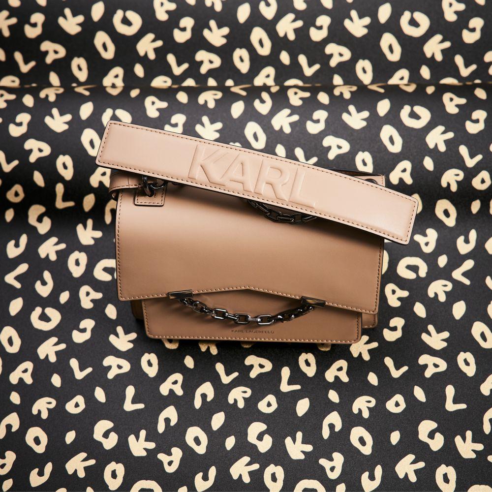 Leopard Wallpaper - Black - by Karl Lagerfeld