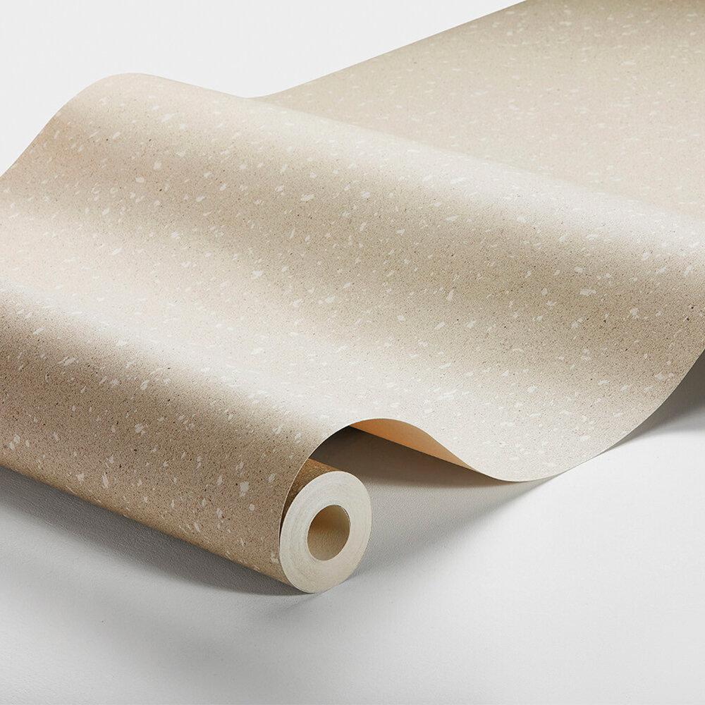 Washi Paper Wallpaper - Natural - by Boråstapeter