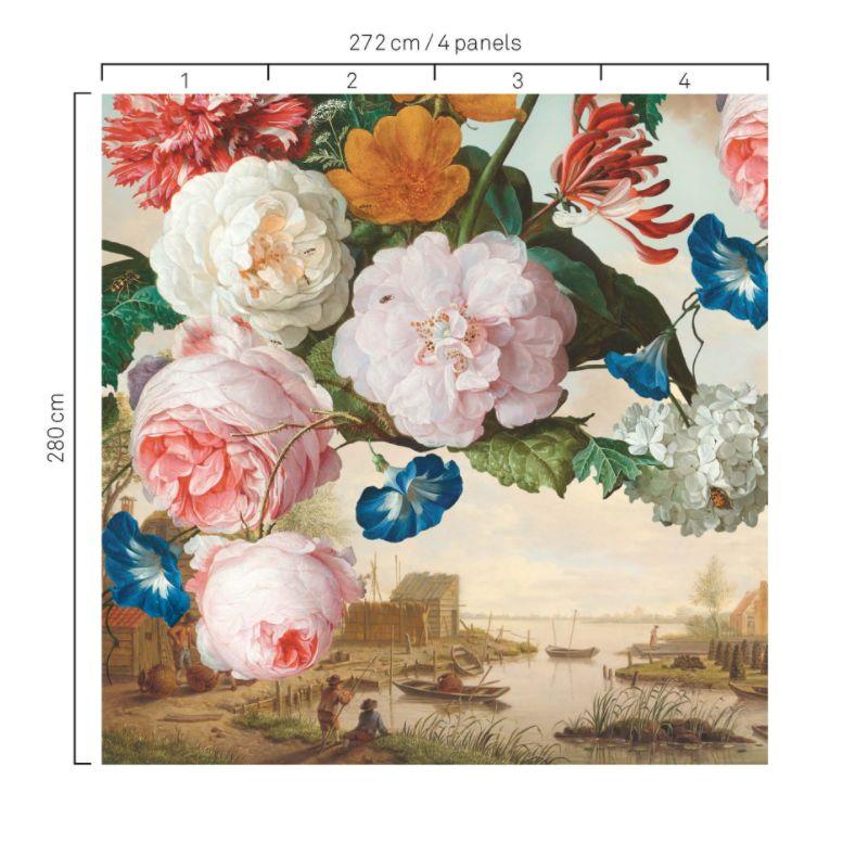 Floral Mural - Multi - by Eijffinger