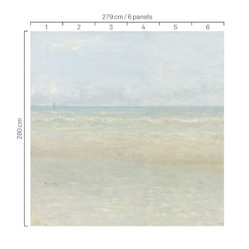 Beach Mural - Sand - by Eijffinger