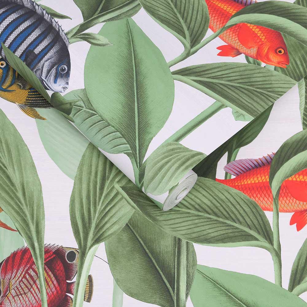Aquarium Wallpaper - Lush - by Graham & Brown
