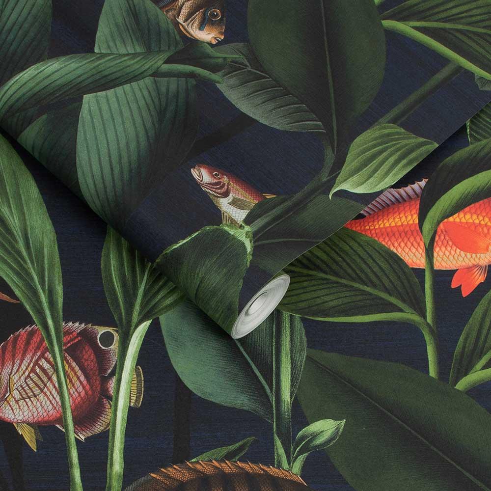 Aquarium Wallpaper - Deep Sea - by Graham & Brown