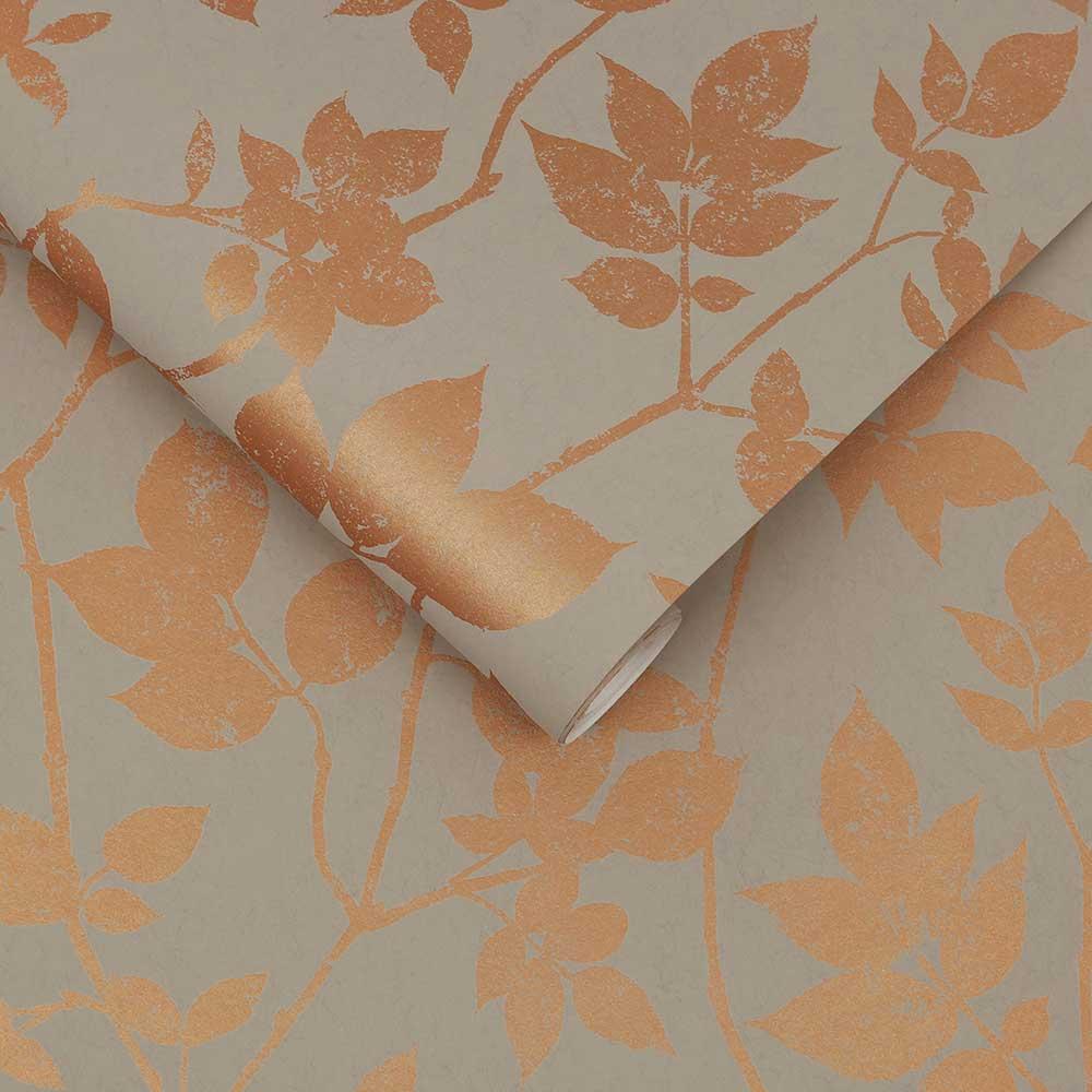 Luna Wallpaper - Natural - by Graham & Brown