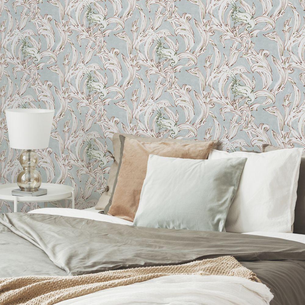 Exotico Wallpaper - Celadon - by Coordonne