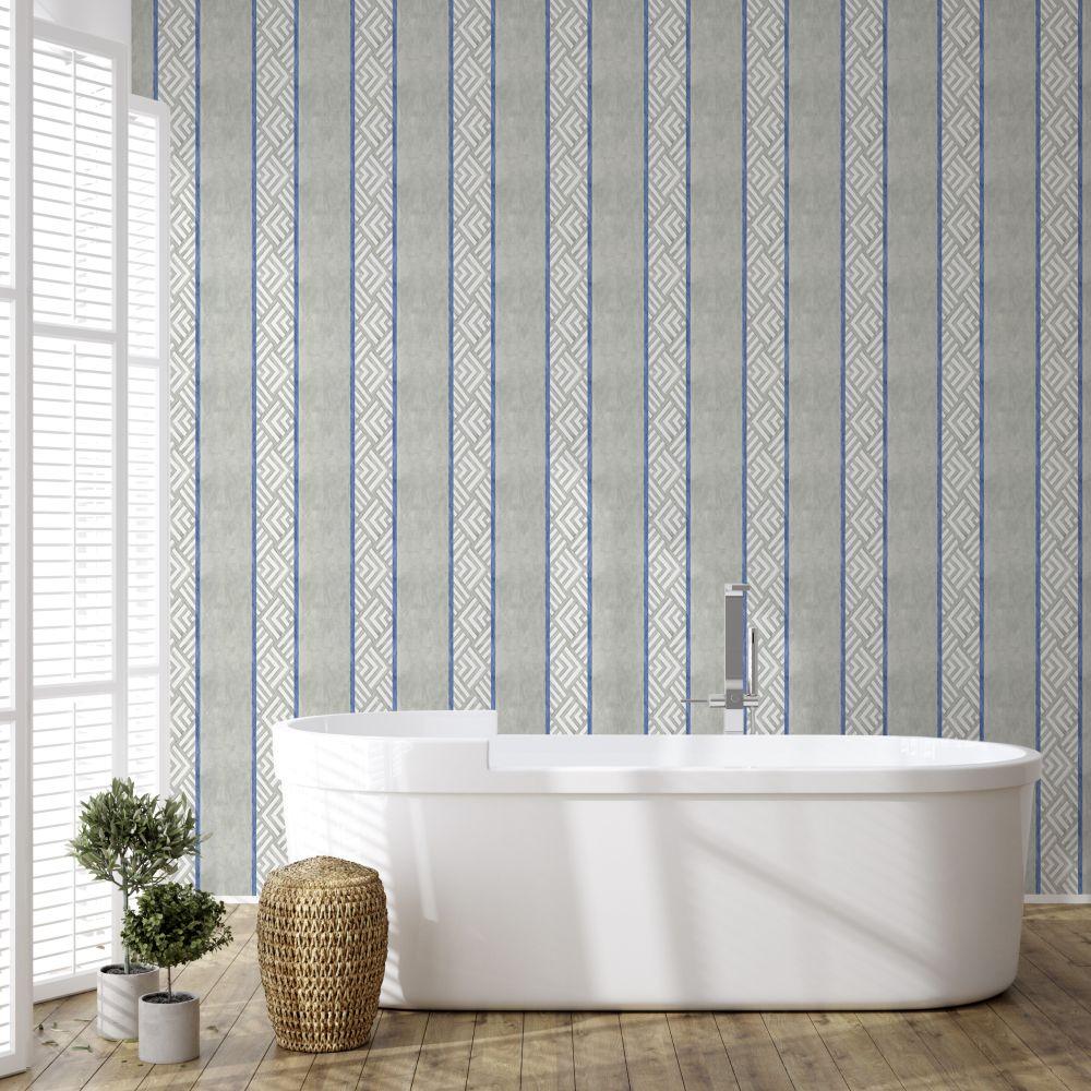 Galeria Wallpaper - Indigo - by Coordonne