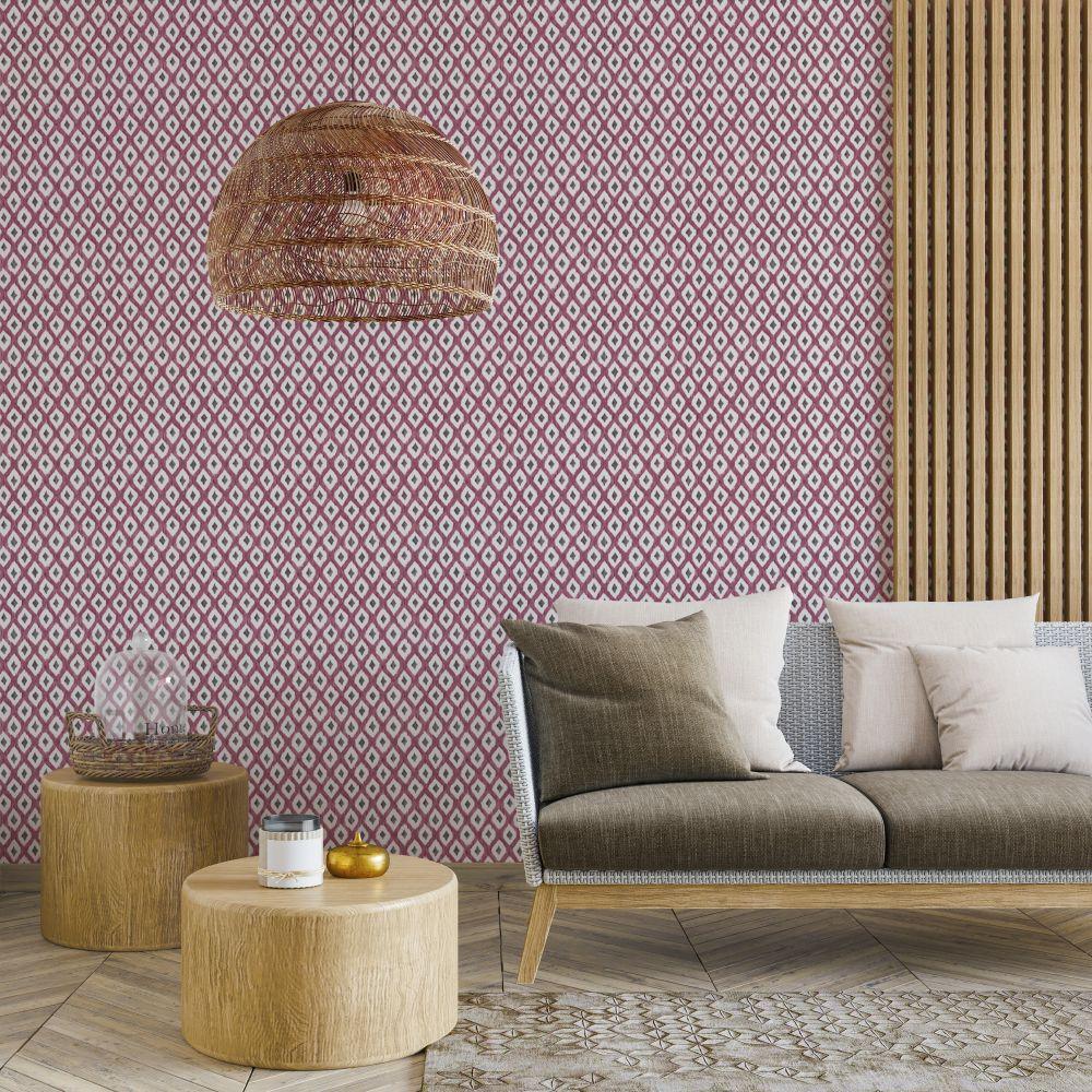 Animal Print Wallpaper - Cereza - by Coordonne