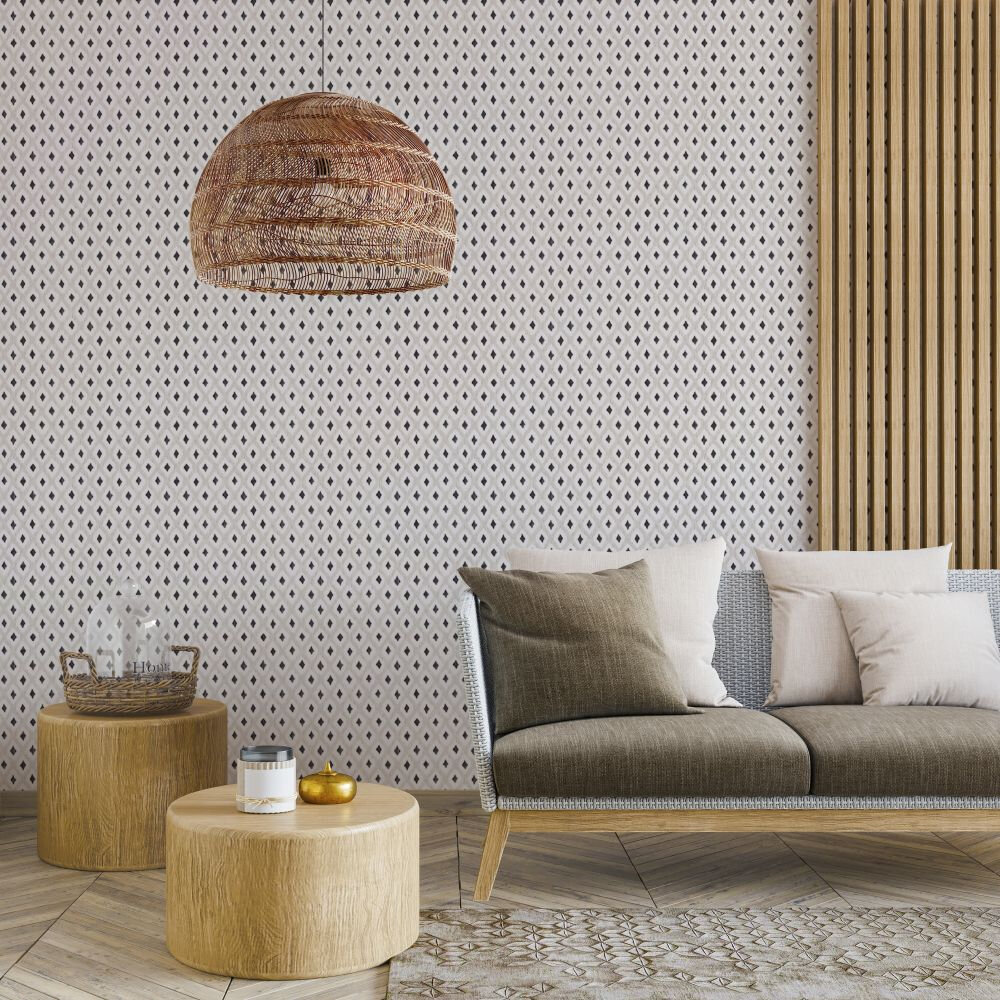 Animal Print Wallpaper - Piedra - by Coordonne