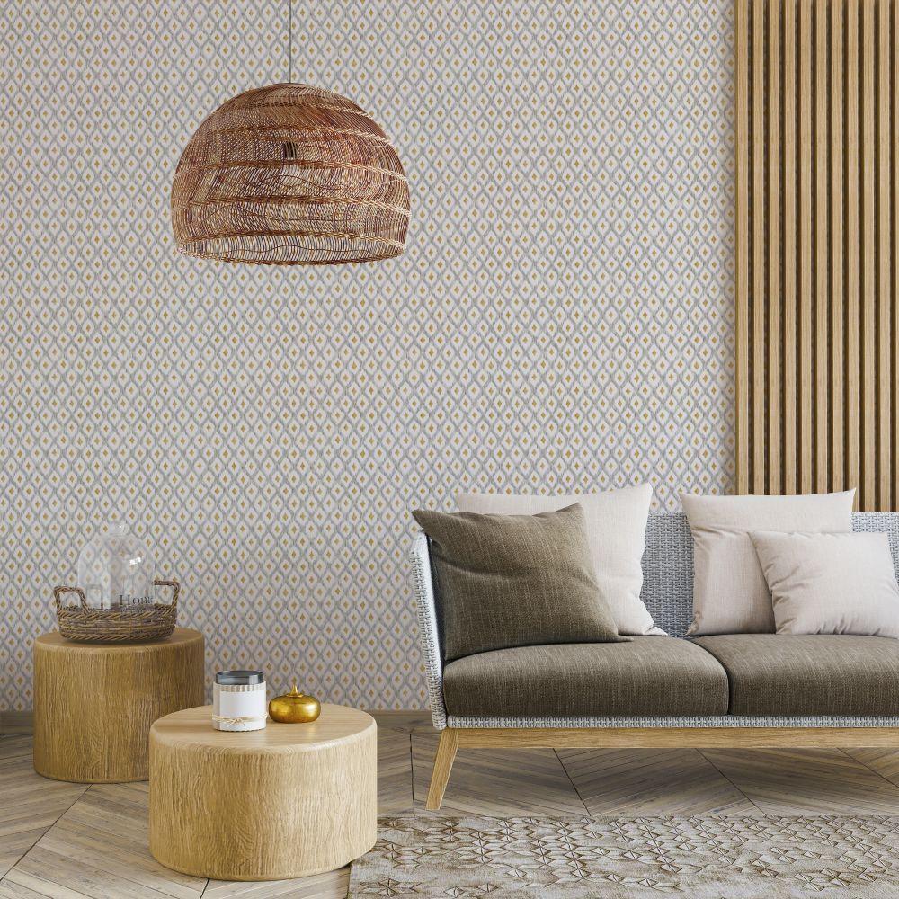 Animal Print Wallpaper - Perla - by Coordonne