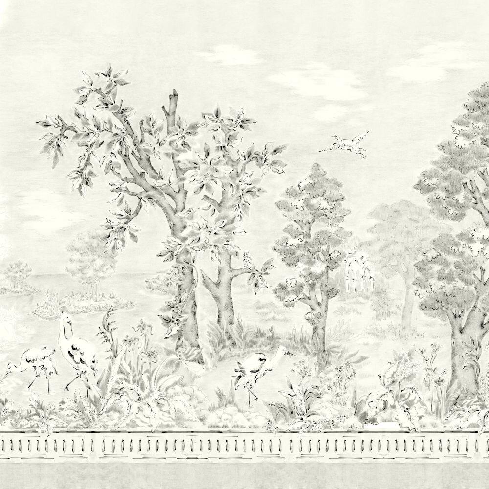 Jacaranda Mural - Tarde - by Coordonne