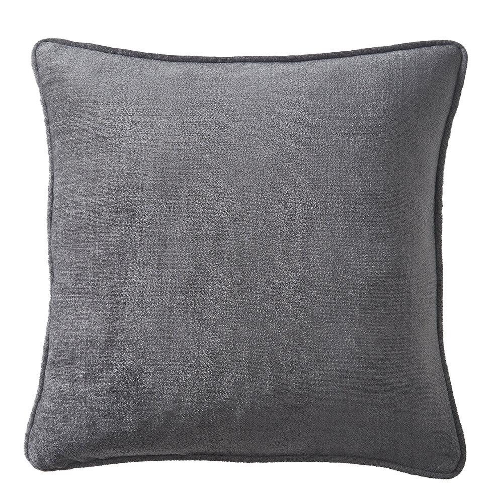 Arezzo Cushion - Charcoal - by Studio G