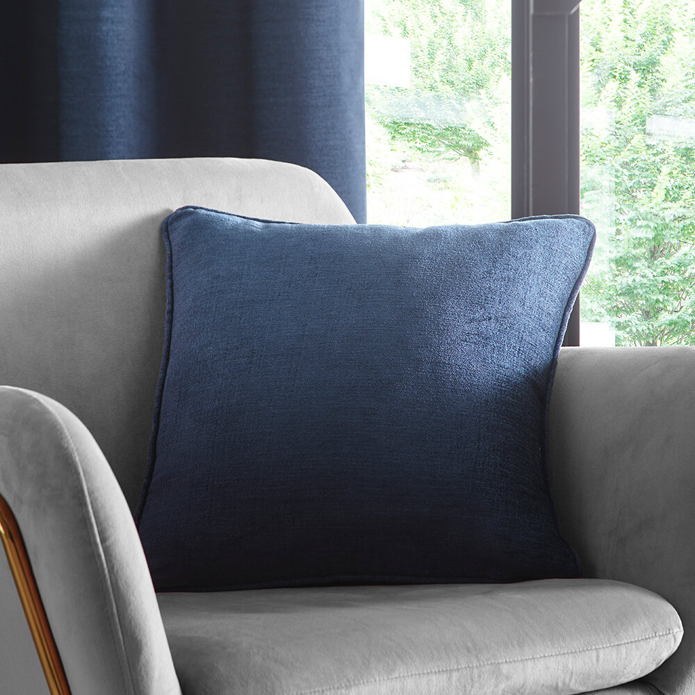 Arezzo Cushion - Midnight - by Studio G