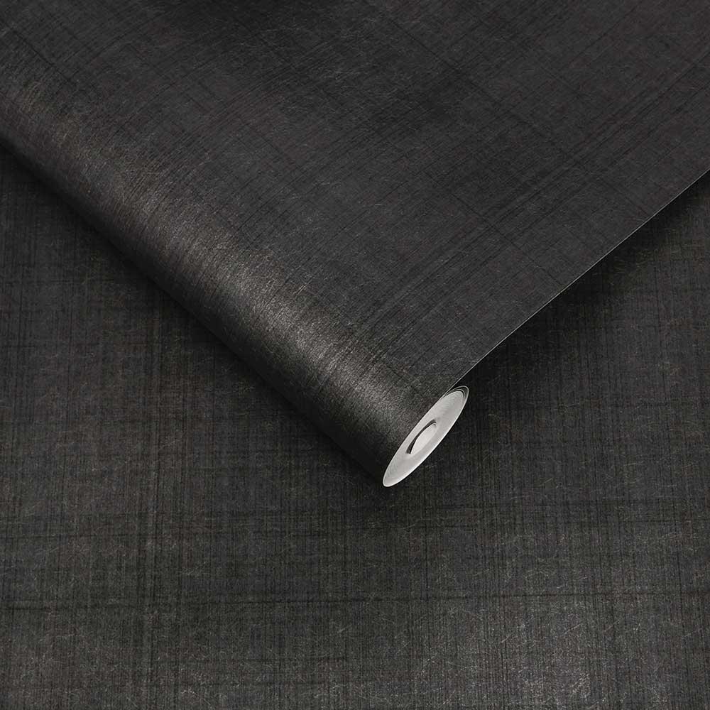 Haze Wallpaper - Grey - by Graham & Brown