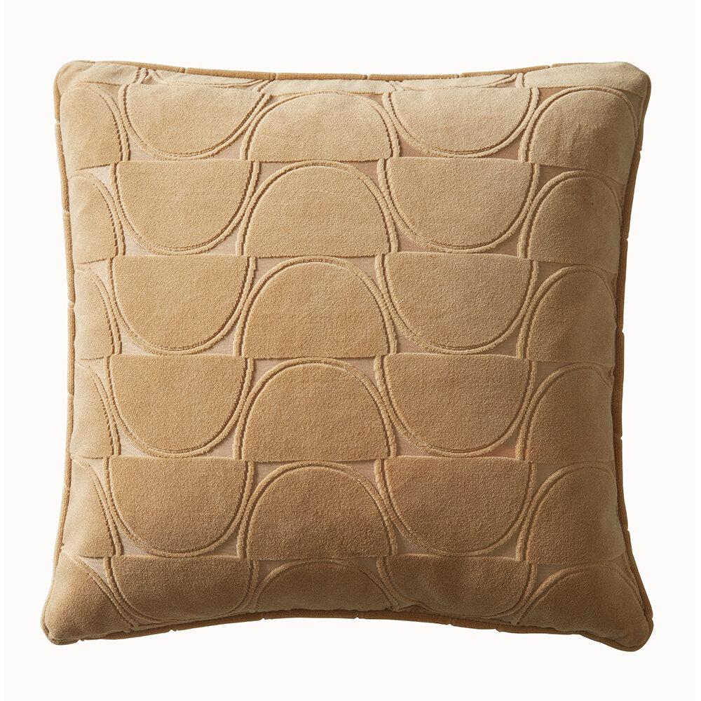 Lucca Cushion - Ochre - by Studio G