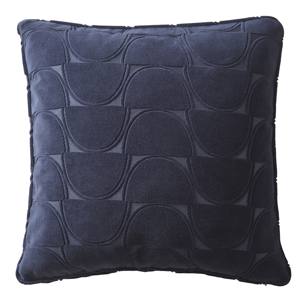 Lucca Cushion - Midnight - by Studio G