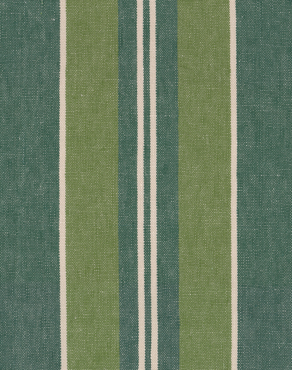 Szépviz Stripe Fabric - Green - by Mind the Gap