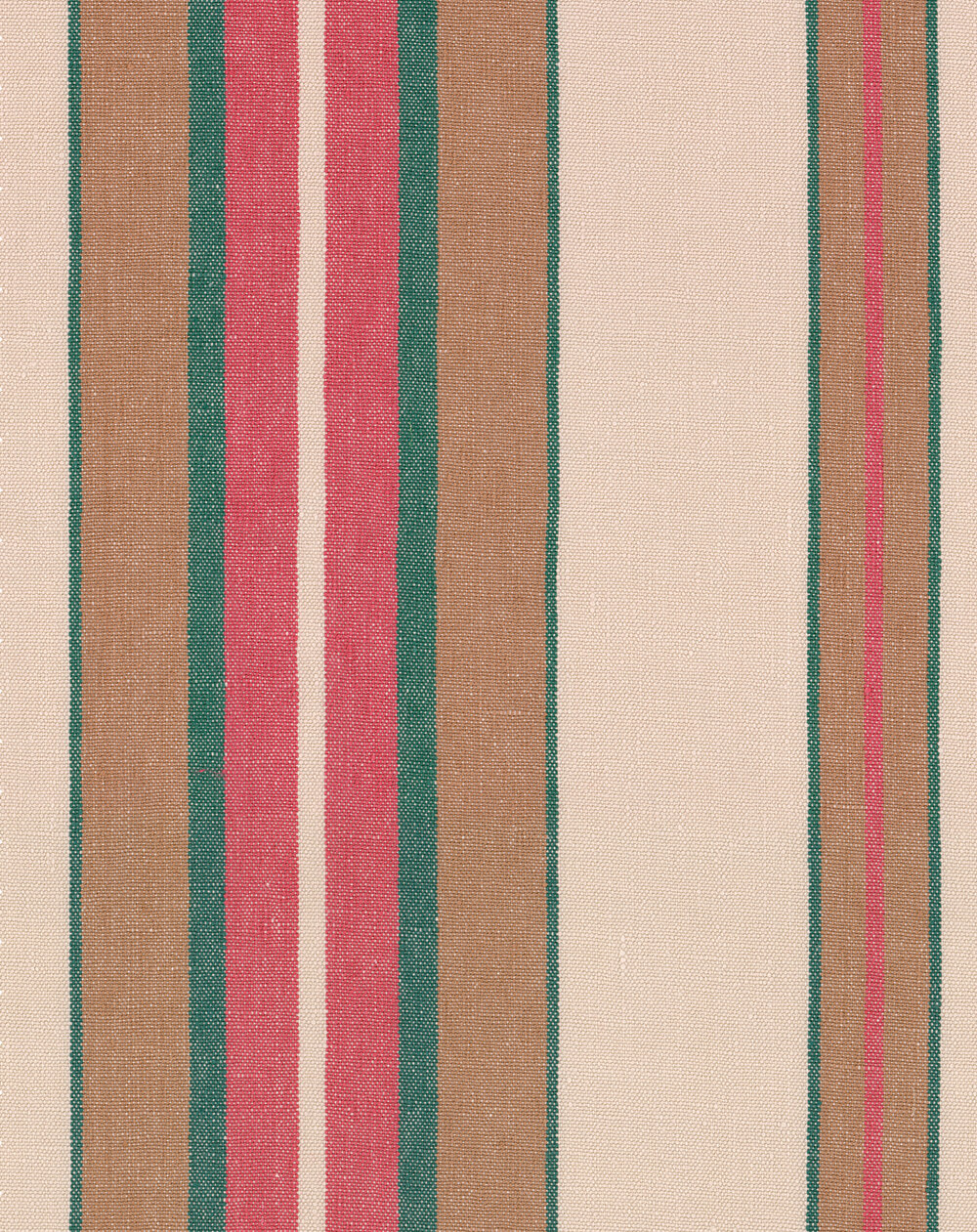 Herina Stripe Fabric - Brown and Pink - by Mind the Gap