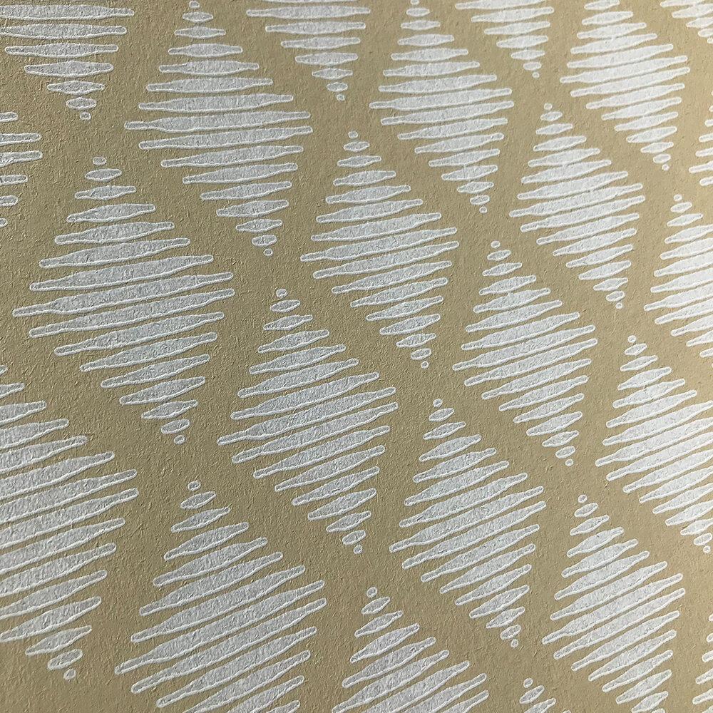 Lea Wallpaper - Ochre - by Jane Churchill