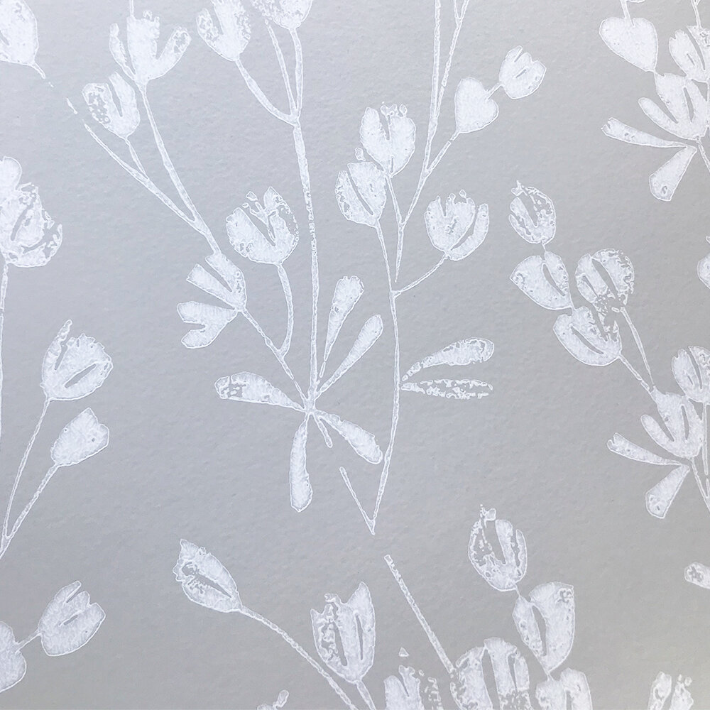 Ines Wallpaper - Beige - by Jane Churchill