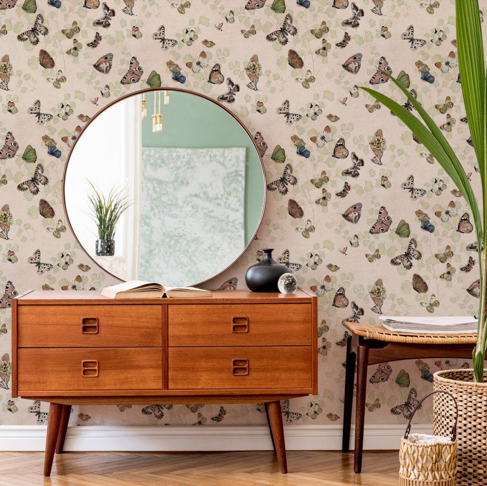 Magic Butterflies Wallpaper - Sweet - by Coordonne