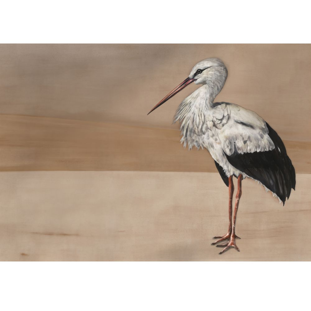 Stork Mother Mural - Nude - by Coordonne