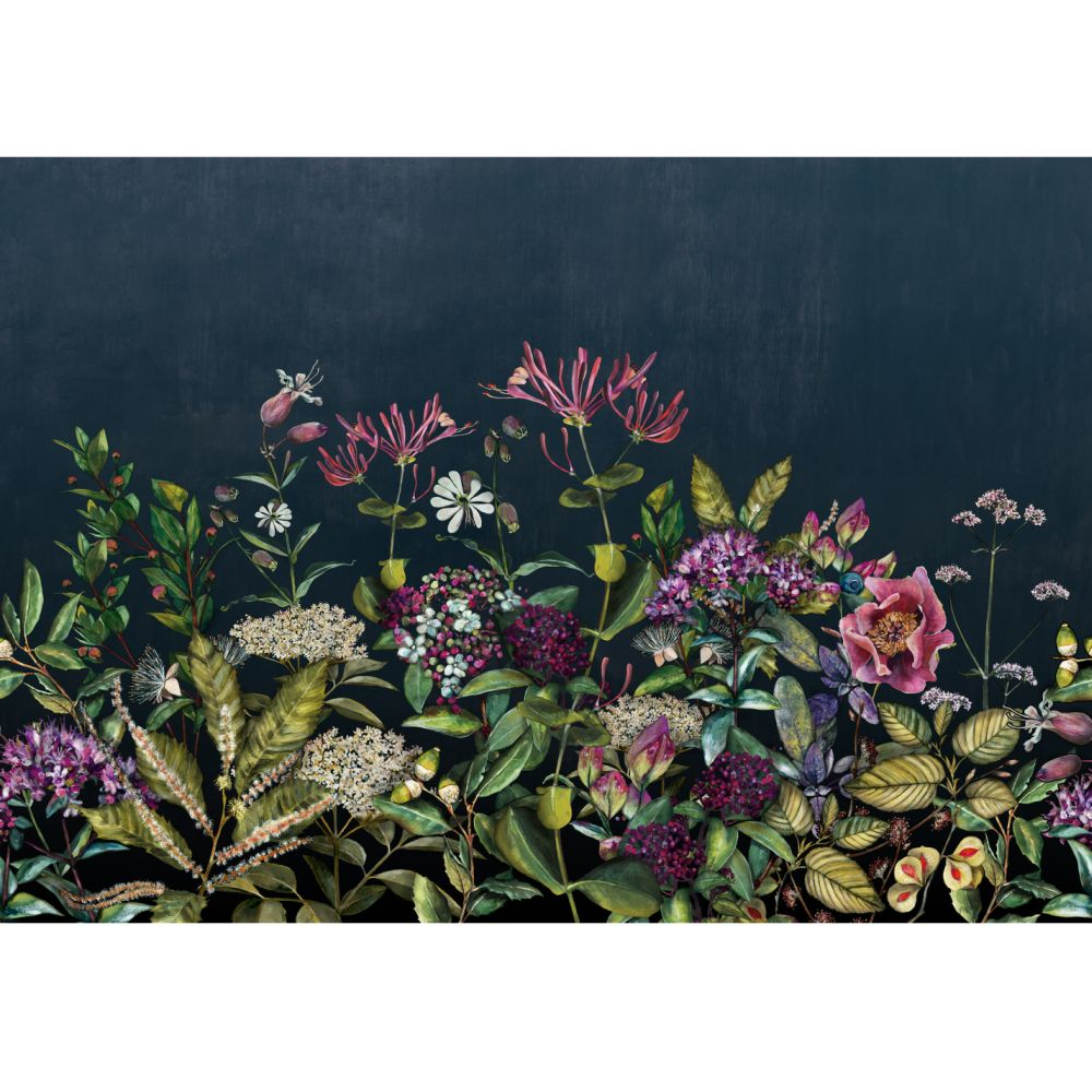 Wild Floral Mural - Day - by Coordonne