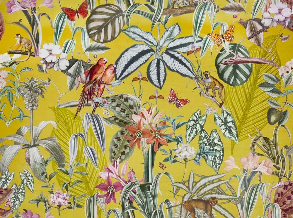 Barbados Fabric - Citron - by Prestigious