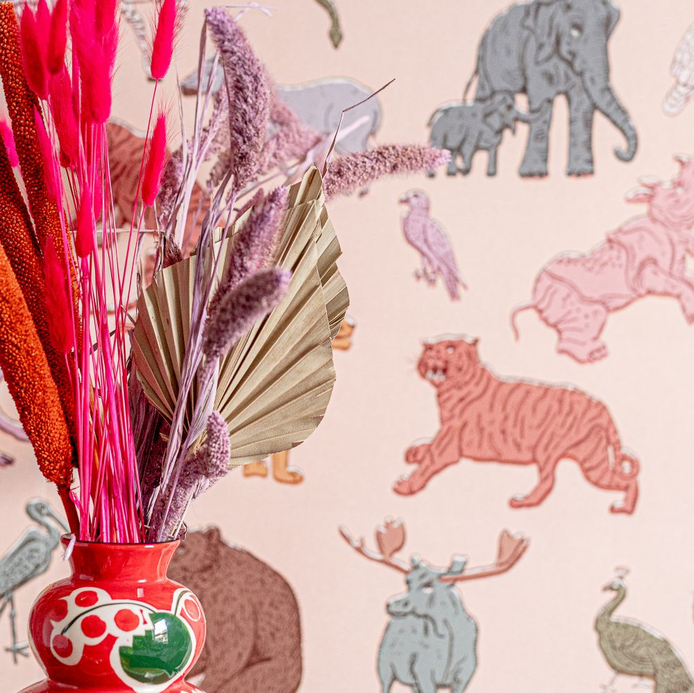 Assemble Wallpaper - Pastel  - by Wear The Walls