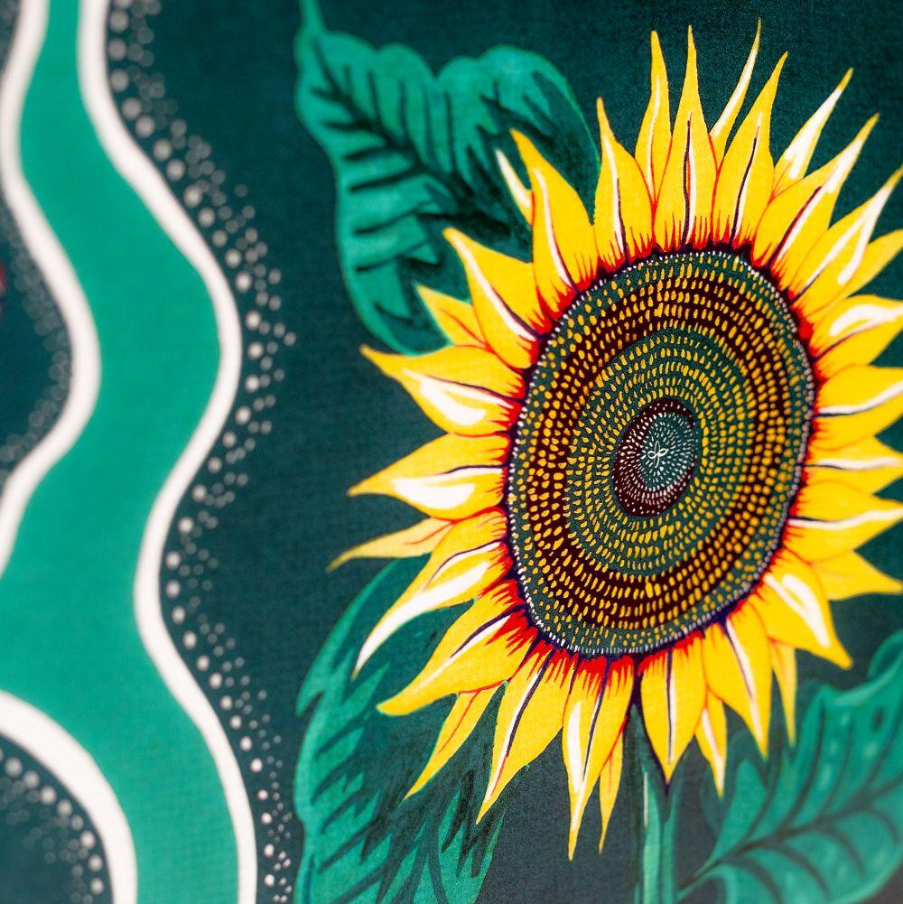 Halcyon Wallpaper - Green - by Wear The Walls