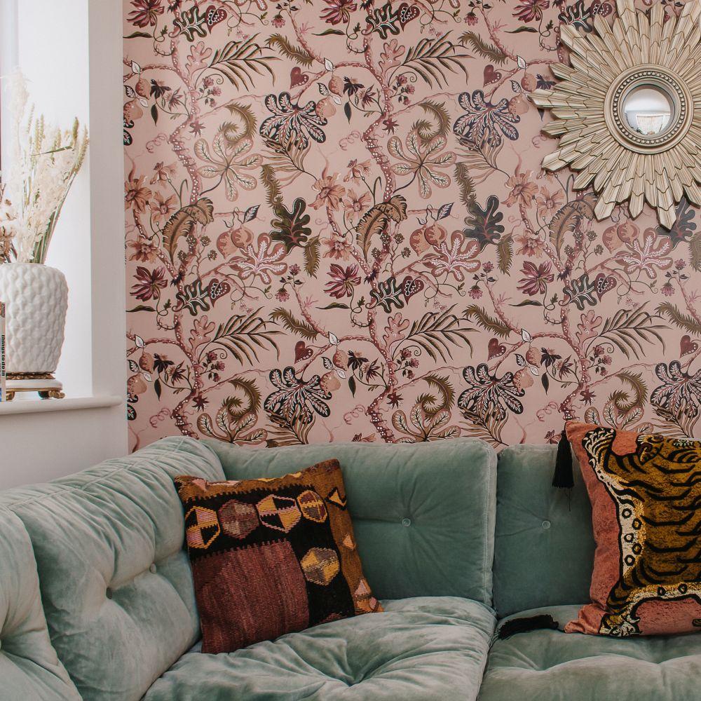 Ophelia Wallpaper - Blush - by Wear The Walls