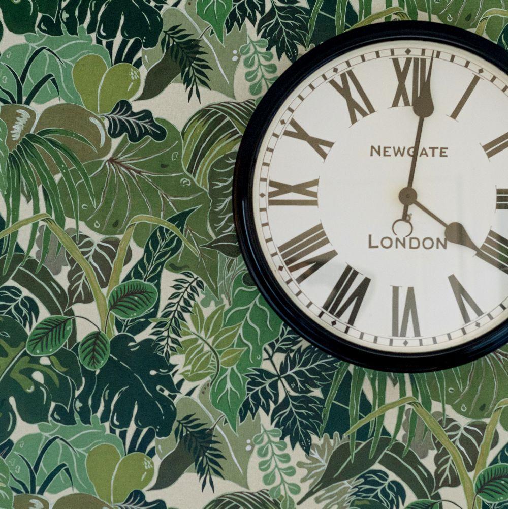 Serendipity Wallpaper - Green - by Wear The Walls