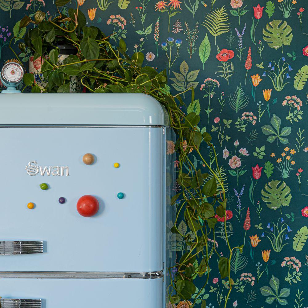 Sonder Wallpaper - Teal - by Wear The Walls