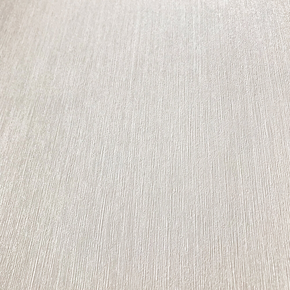 Plain Structure Wallpaper - Pale Cream - by Galerie