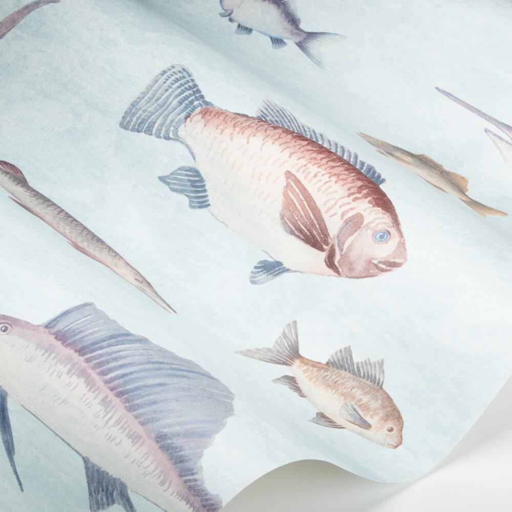 Aquatic Wallpaper - Light Teal - by SketchTwenty 3