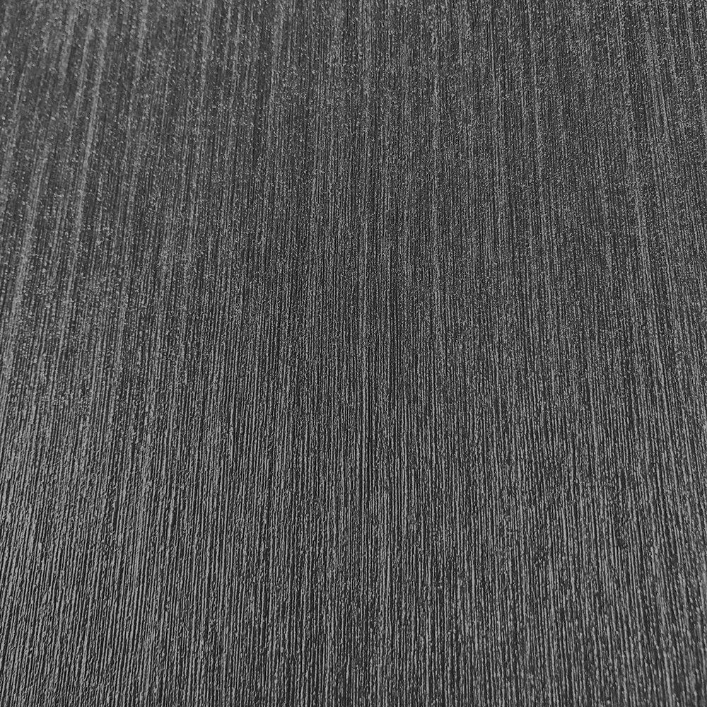 Plain Structure Wallpaper - Dark Grey - by Galerie