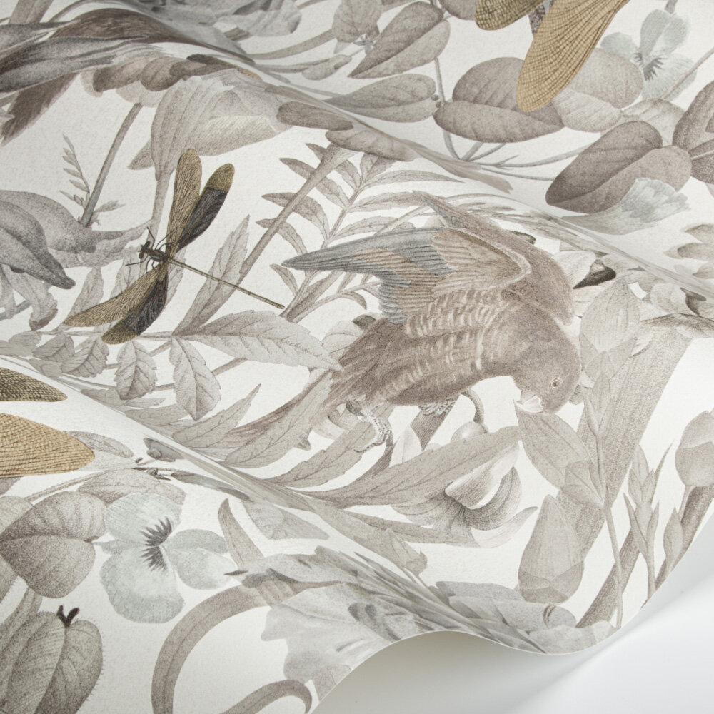Paradise Wallpaper - Smoke Grey - by SketchTwenty 3