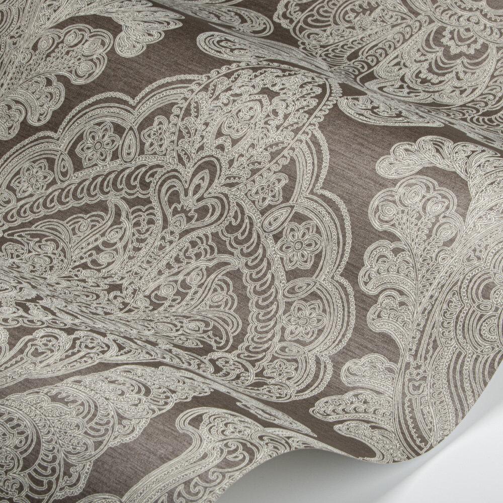 Raffles Wallpaper - Chocolate - by SketchTwenty 3