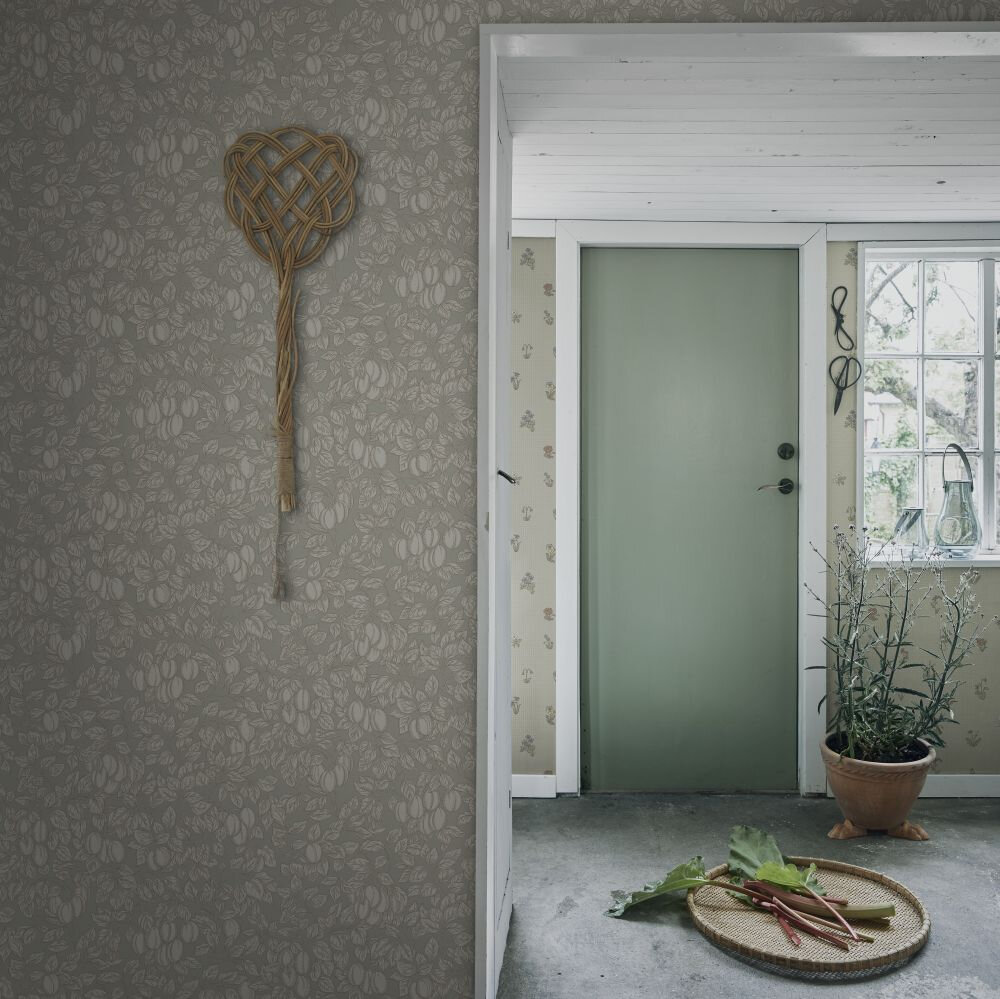 Emrik Wallpaper - Sage Green - by Sandberg