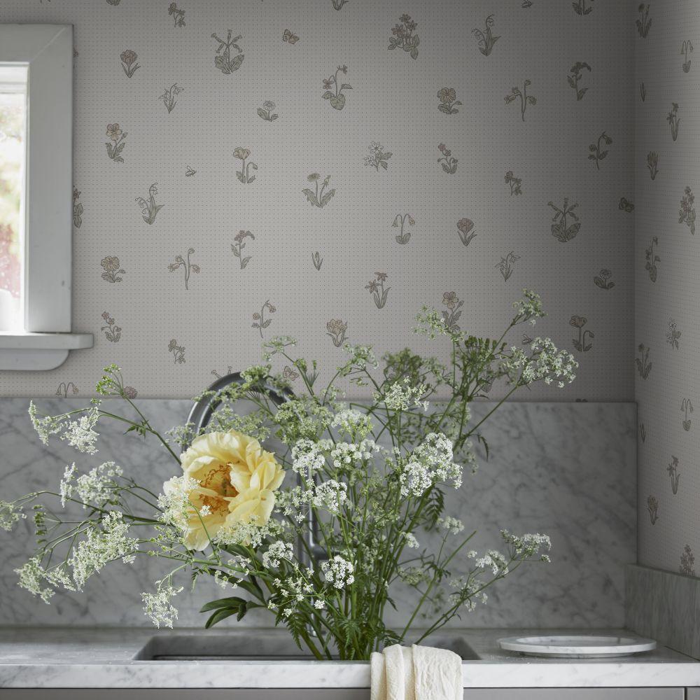 Maja Wallpaper - Pastel  - by Sandberg