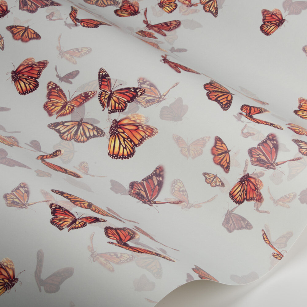 Flight of Monarchs Wallpaper - Sky - by Isabelle Boxall