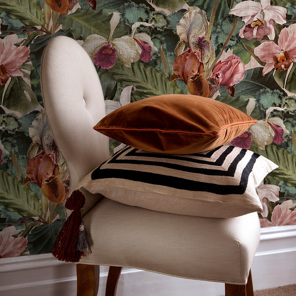 Hot House Wallpaper - Blush - by Sidney Paul & Co