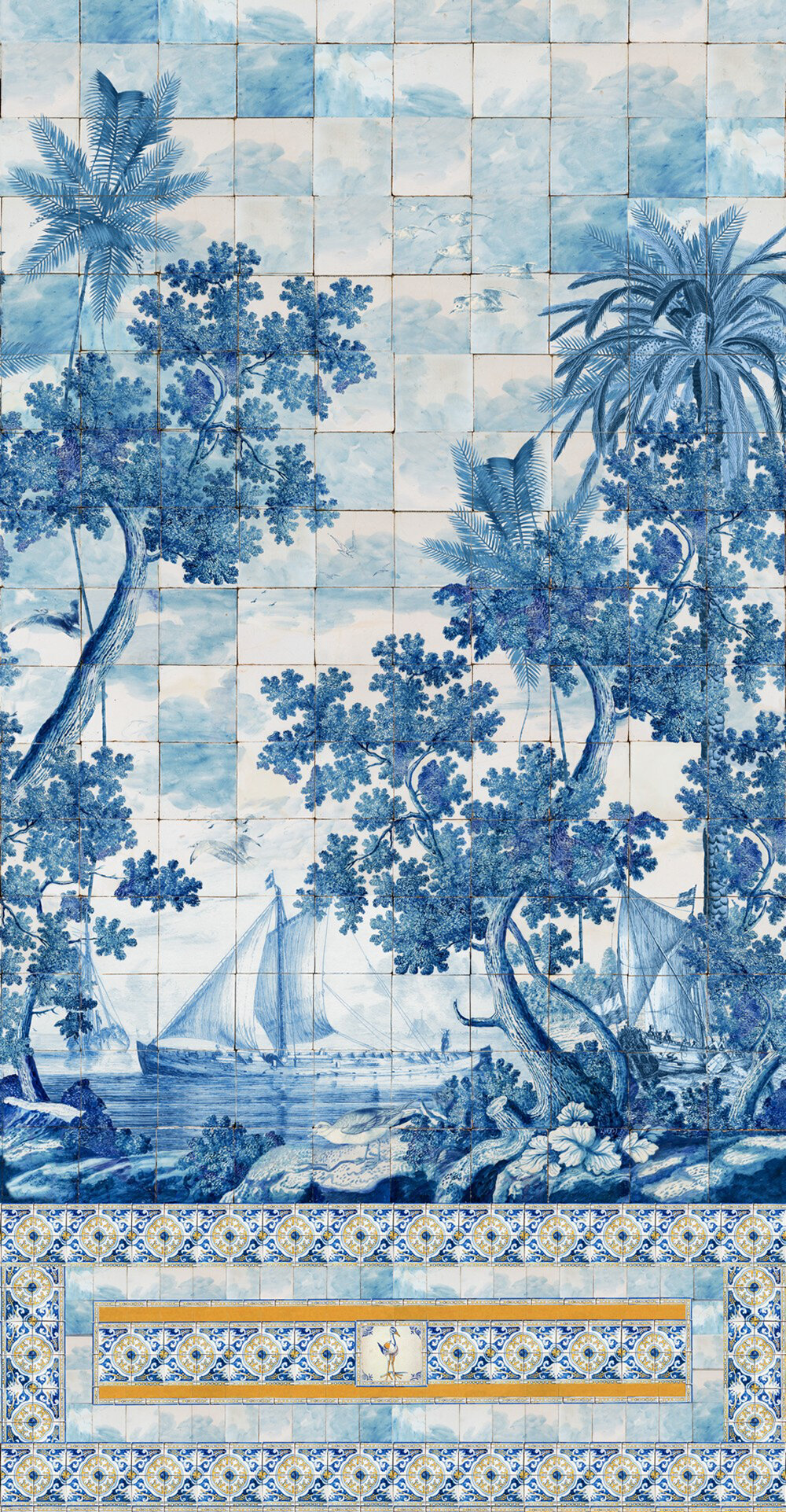 Azure Mural - by Mind the Gap